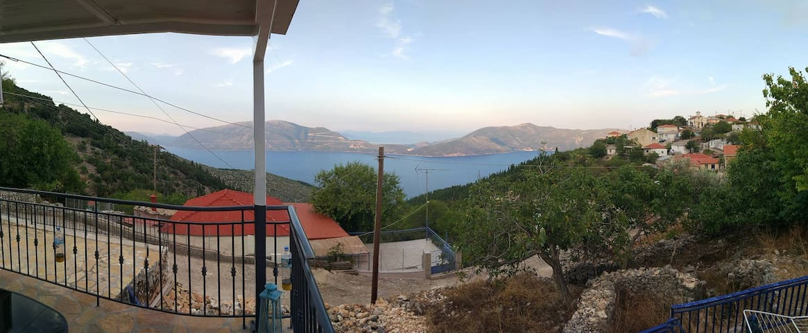 Spectacular view family vacation house - Kefalonia - Casa