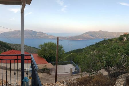 Spectacular view family vacation house - Kefalonia - Дом