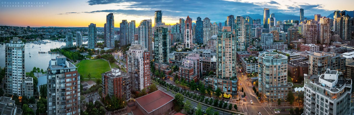 PROMO / 1BR / Downtown **YALETOWN** / FREE parking