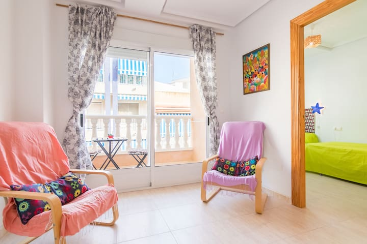 Apartamento en playas de Guardamar, Alicante