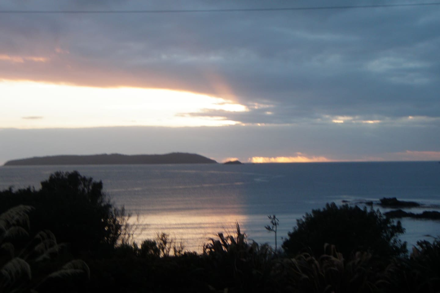 Ringaringa Bay from the house