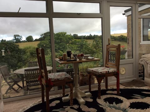Fantastic Country Cotswold Breakfast View