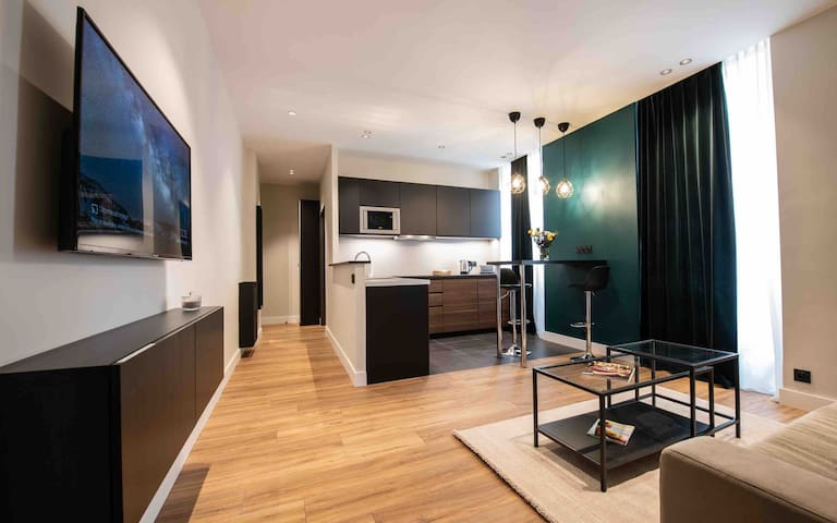 Monaco Central Modern  1 bedroom Apartment
