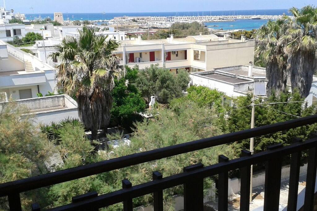 vista panoramica dall'appartamento