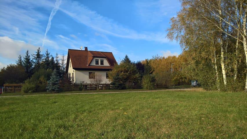 Haus mit Fernblick zum Träumen - Fredersdorf-Vogelsdorf - Huis