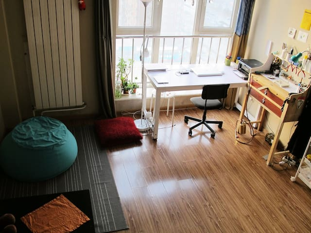 Lovely Loft Room. Close to Subway - Beijing