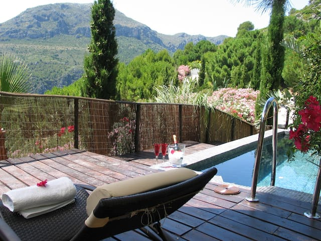 Maharaja Tent with private pool and terrace - Casares