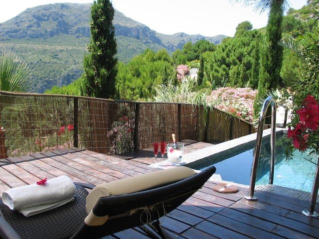 Maharaja Tent with private pool and terrace - Casares - Çadır