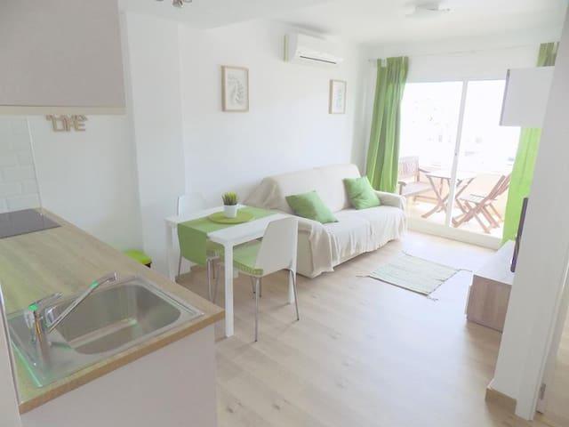 Apartamento moderno a pasos de la playa en Albir