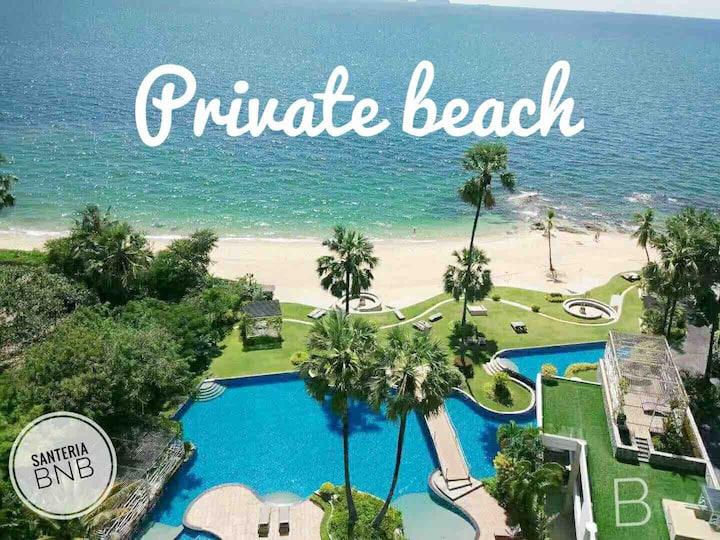 Luxury Seaview Private Beach Home 芭提雅市区海景房带私人海滩