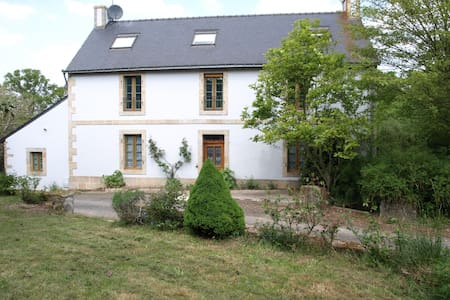 AUBERGE EN CAMPAGNE : 5 CHAMBRES + TABLE D'HOTES - Locunolé