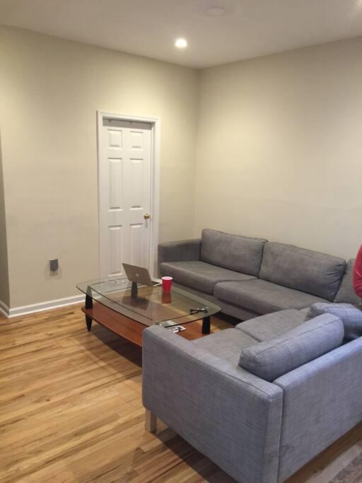 Living Room and door to bathroom 1