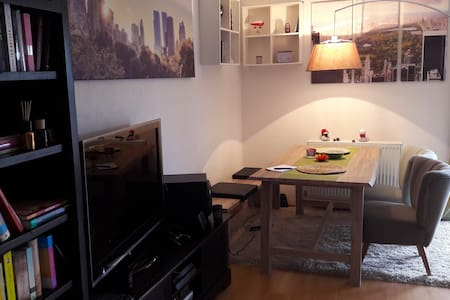 Gemütliche zwei Etagen Wohnung - Herbsleben - อพาร์ทเมนท์