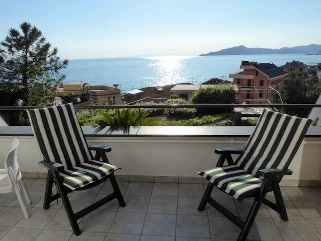 Panoramico sul Tigullio, a un minuto dal mare