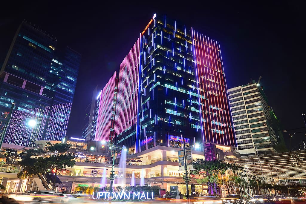 Uptown Mall across the building