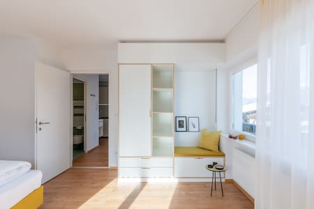 """Modern """"Hus Apartment - Nr. 2"""" with Balcony, Garden & Wi-Fi; Parking Available"""