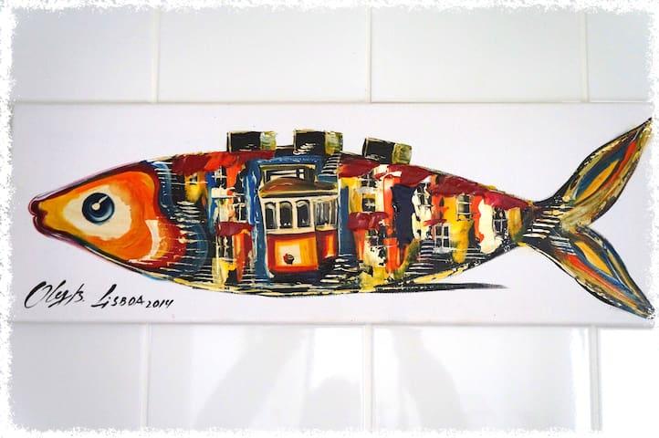 Apartment center Bairro Alto. - Lisboa - Daire