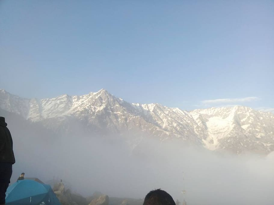 View of Dhauladar Range