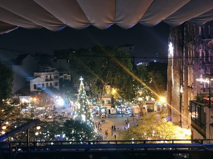 JOYCE★2BRs/Church View★BEST-LOCATION★Rooftop Cafe