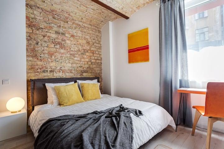 Riga Boutiq Studio - Perfect for Longer Stays - !