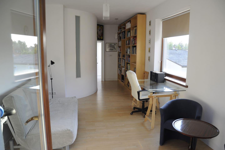 Widok na pokój z tarasu/ View from balcony