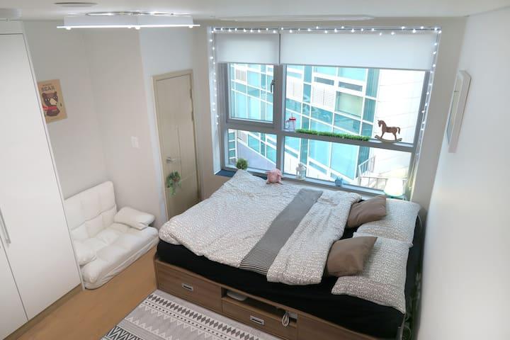 MyeongDong ★ Cute Comfy LOFT +Free WiFi