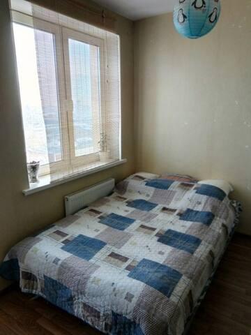 A 25m2 city-view apartment near underground st.