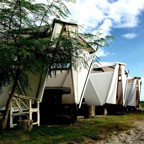 Waterfront BnB kiters cabanas at PuntaChame Panama