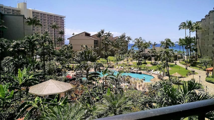 POPULAR KA'ANAPALI SHORES, OCEAN VIEW CONDO