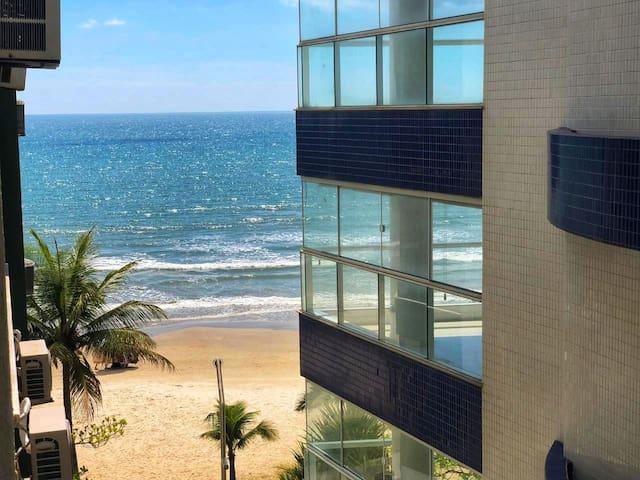 FRENTE MAR, lateral, 3 quartos, Meia Praia,Itapema
