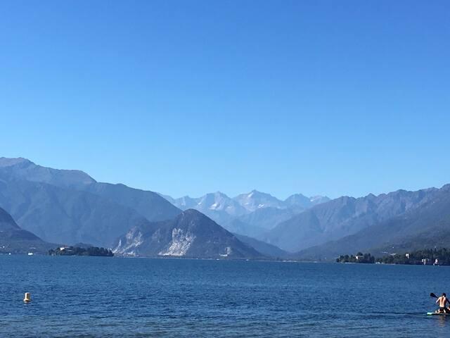 """Lago Maggiore Laveno """"Viletta Mila"""" genial zentral"""