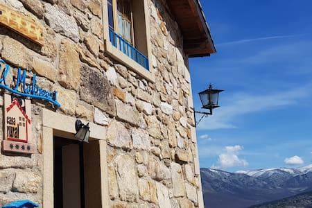 Casa rural con Jacuzzi y vistas a gredos