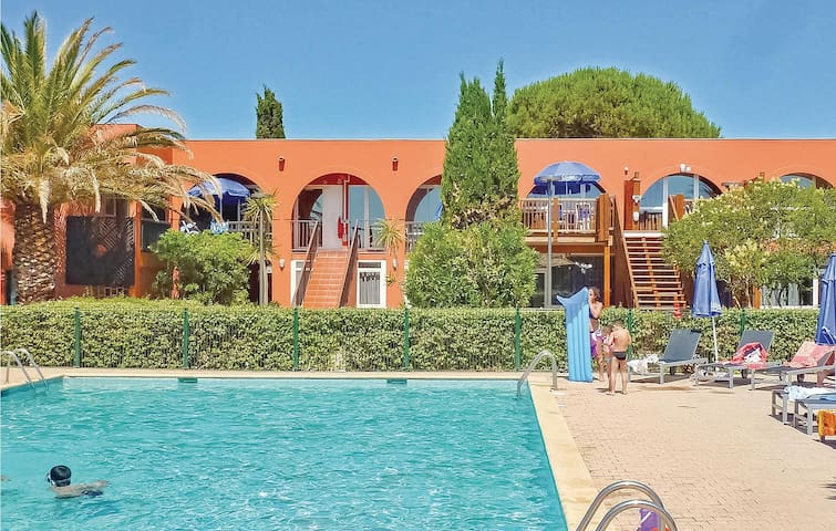 Holiday apartment with 1 bedroom on 43m² in Cap d'Agde