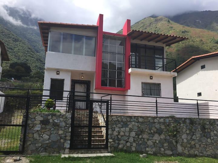 Bella casa vacacional La Puerta vista panorámica