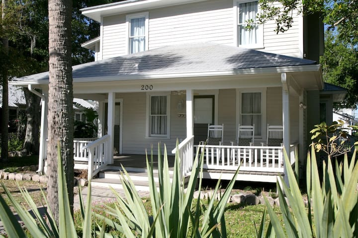 """Suite C"" Beautiful 1/1 turn of the century home located in historic NSB!"