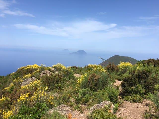 Vue depuis le sommet de Monte Fossa