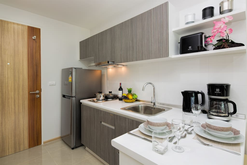 Fully equipped kitchen for your comfortable stay!