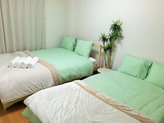 2Bed room in Tokyo down town!