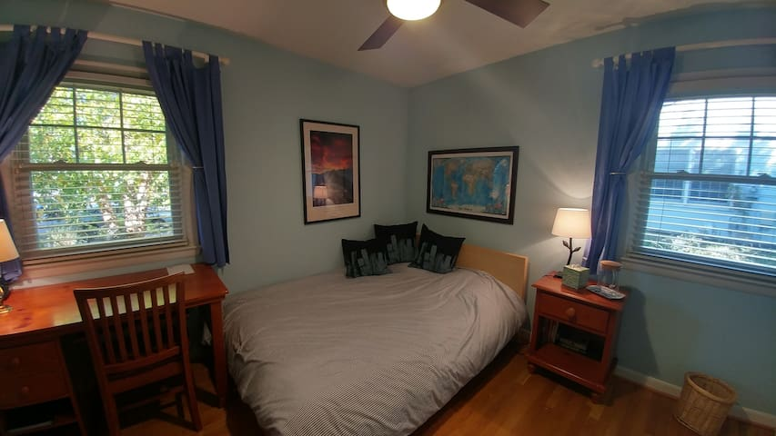 Comfy room in charming home near metro Tyson's, DC