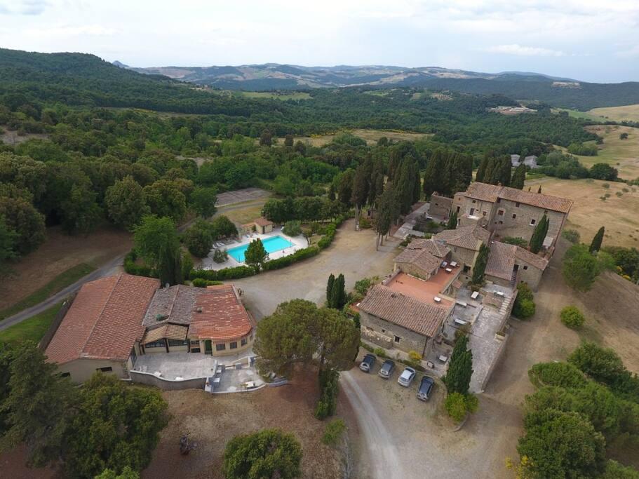La Farneta vista dal cielo - The Farneta view from the sky