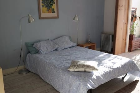 Fantastic room w/terrace in Paço de Arcos center! - Byt