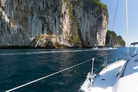 Join trip in double cabin on sailing yacht - Tambon Chalong - 船