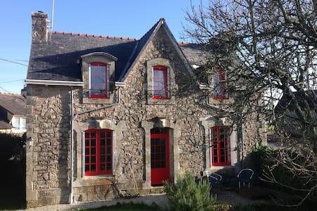 Vrijstaande vakantiewoning Tin Ton in Bretagne - Landudal