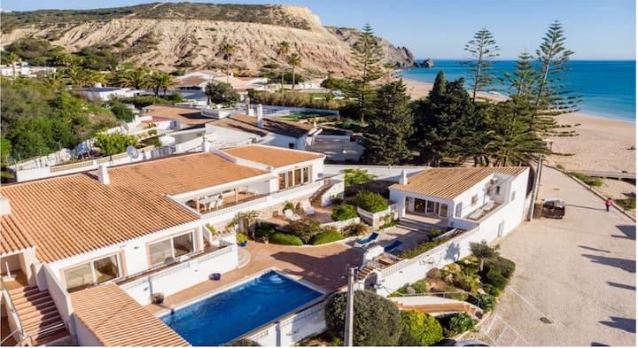 Casa Bom Porto Beachfront Villa Praia da Luz Lagos