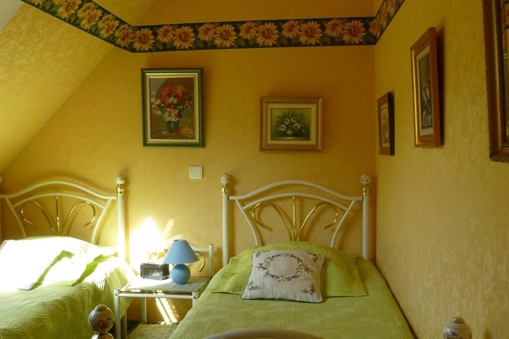 2 chambres pour 3 ou 4 personnes chambres d 39 h tes for Chambre 3 personnes