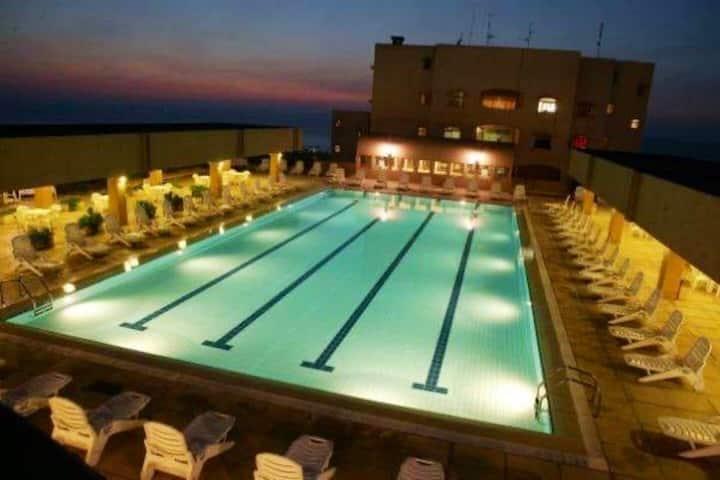 Quite Seaside resort apartment near Beirut