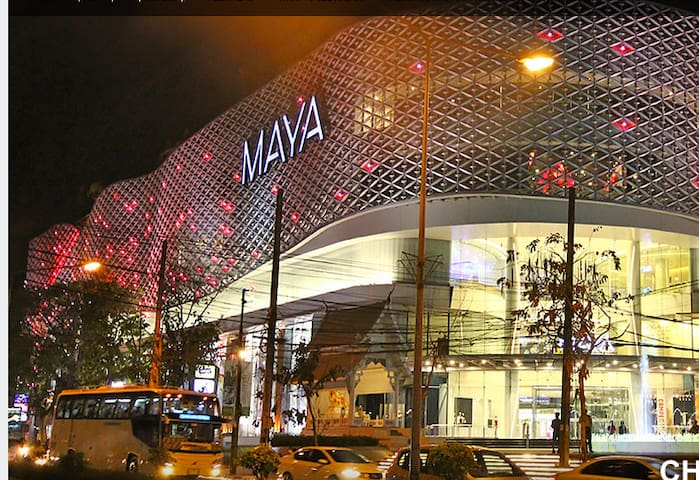Chiang Mai's most elegant shopping mall -- just 2 km away