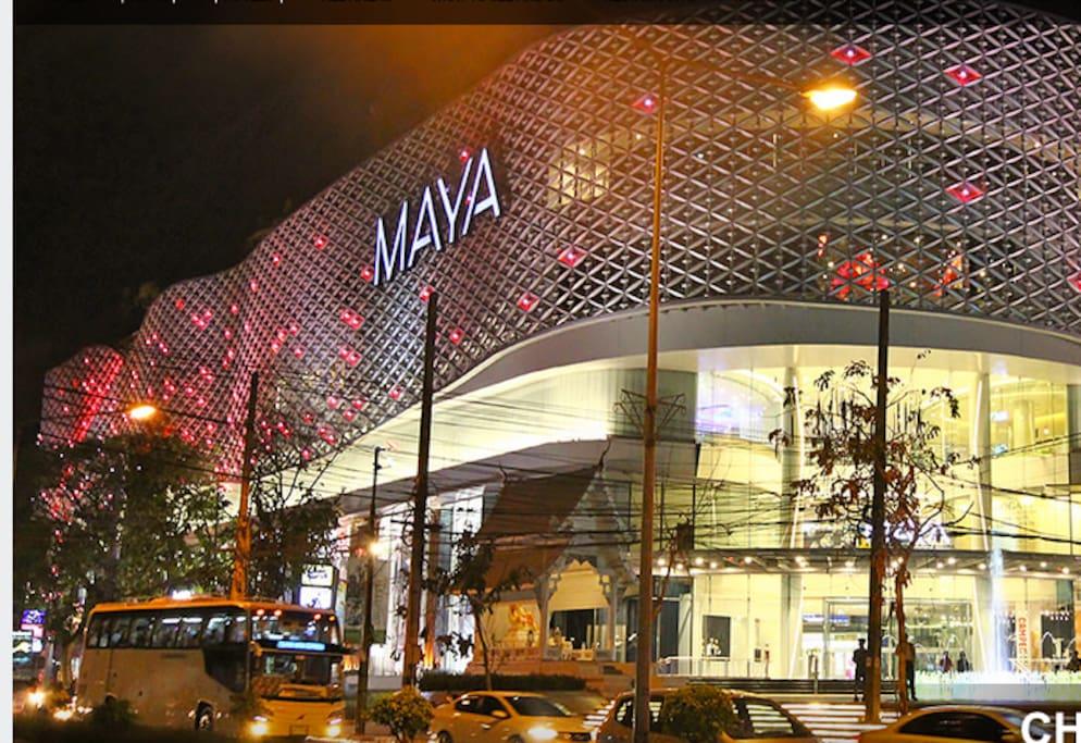 Chiang Mai's most elegant shopping mall -- just 2 km away
