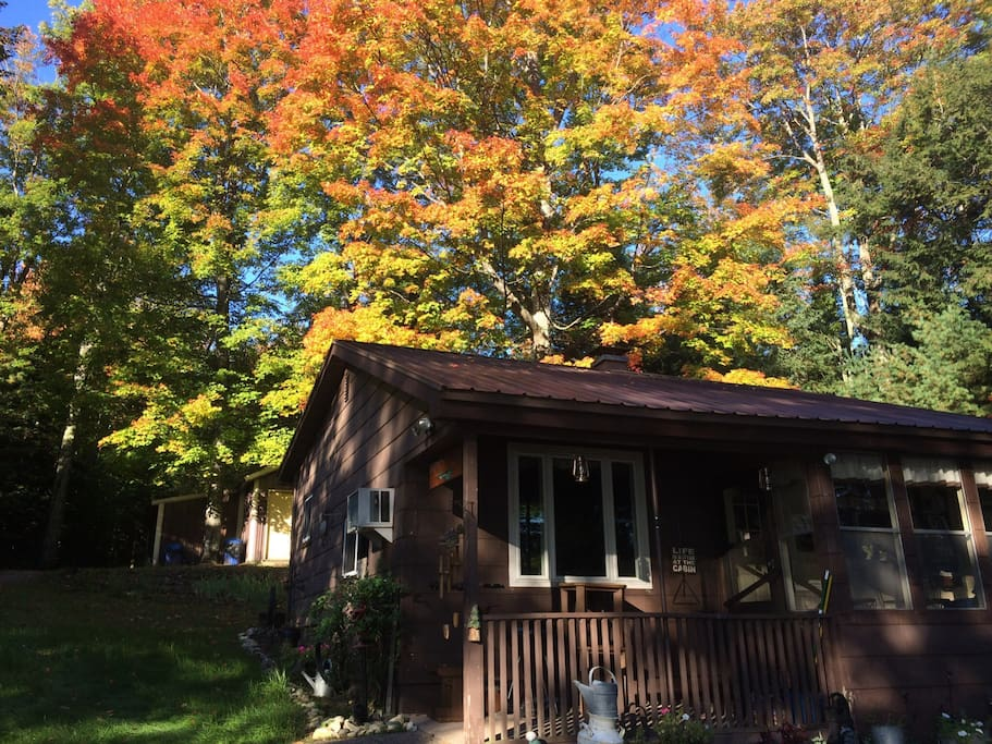 Cottage during Fall colors !!