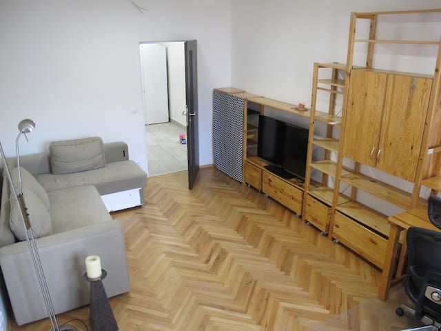 Modern quiet apartment, 15 mins to the city centre